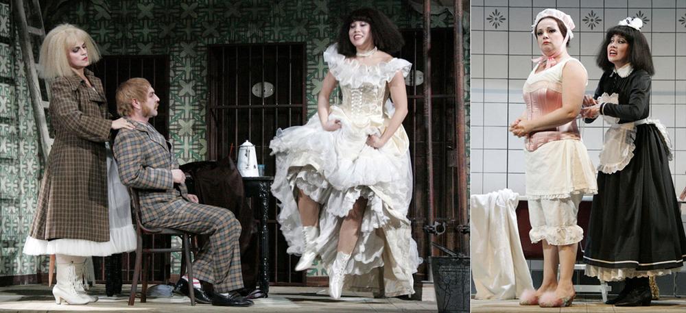 Adele, Die Fledermaus //Anhaltisches Theater Dessau//Director/Costumes: Hinrich Horstkotte// Stage: Martin Dolnik //Photos: Claudia Heysel