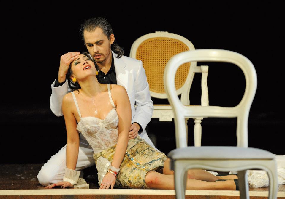 Fausta in Marco Attilio Regolo // Antonio Giovannini as Amilcare
