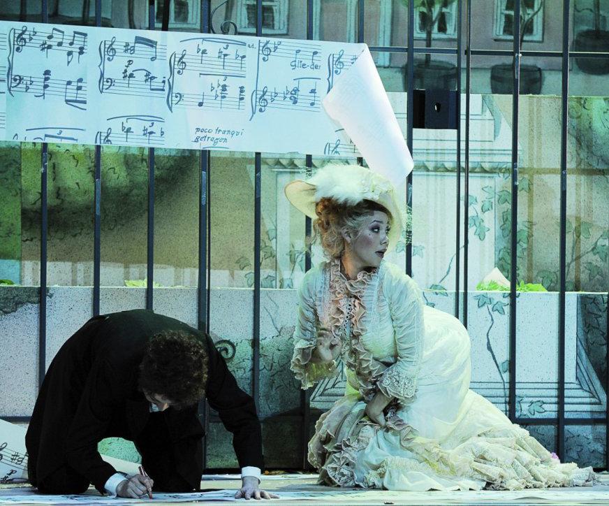 Zerbinetta in Ariadne auf Naxos // Anna Peshes as Componist