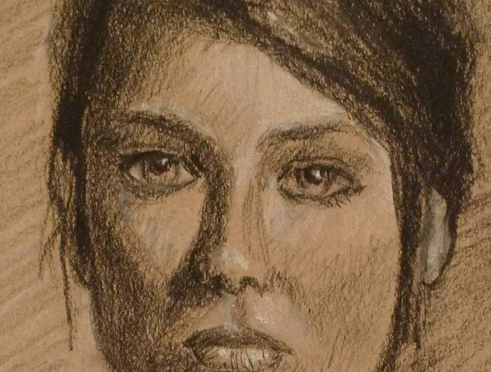 Girl in Charcoal