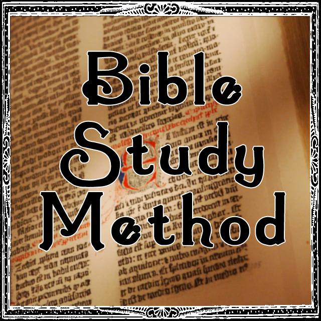 Simple Bible Study Method