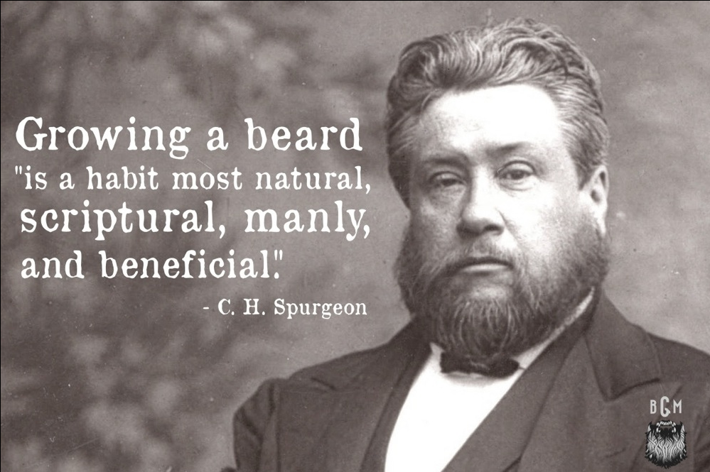 Spurgeon Beard Quote