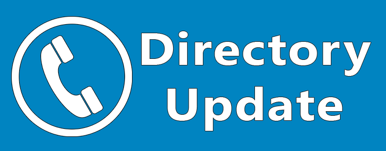 Directory Update Banner