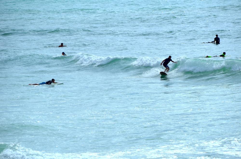 """Dia """"marromeno"""" de surf"""