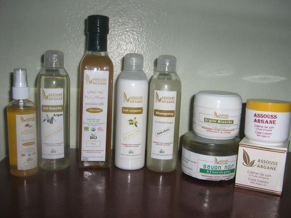 Alguns dos produtos vendidos na cooperativa