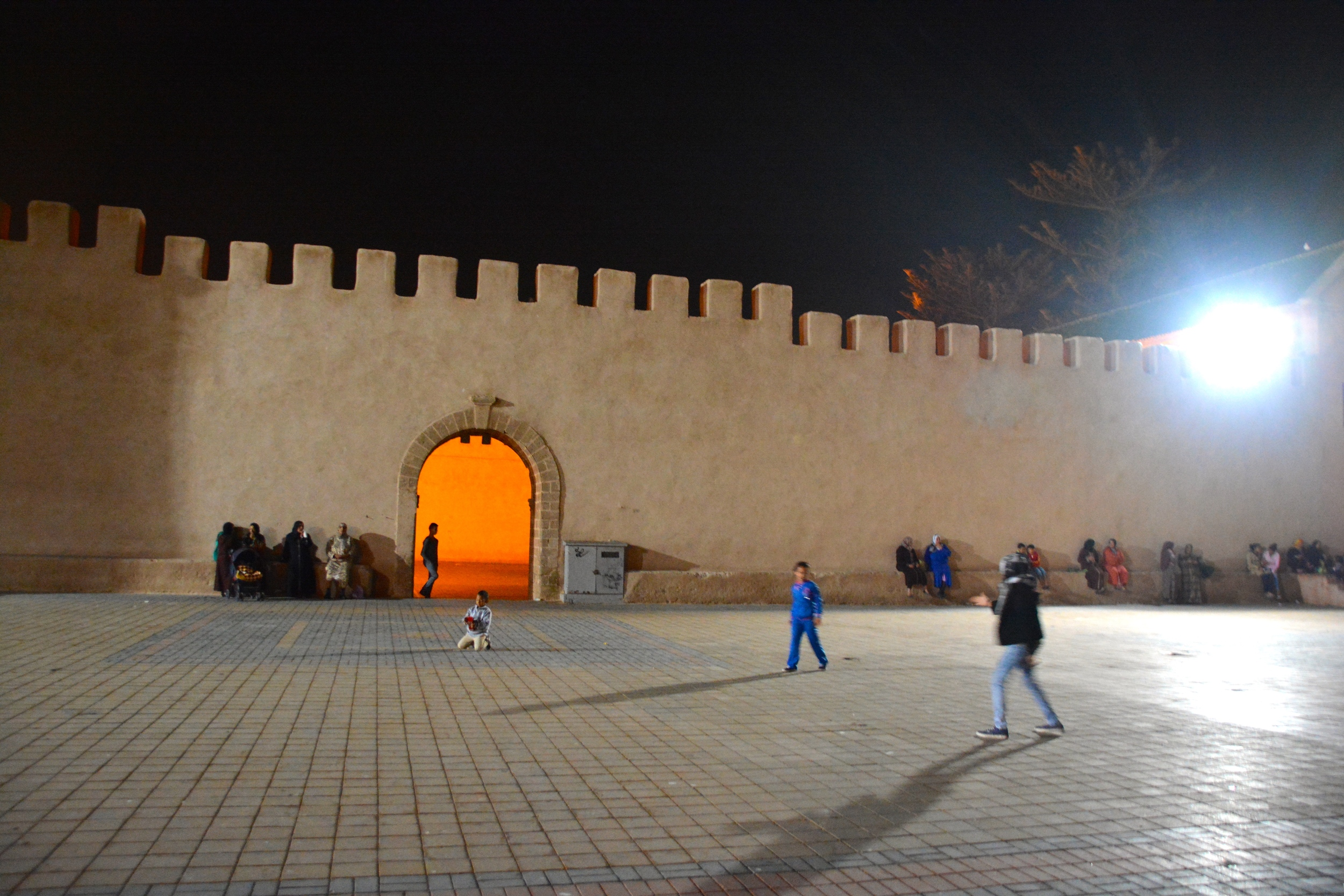 Essaouira e a muralha