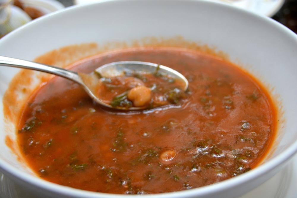 Harira: sopa típica marroquina
