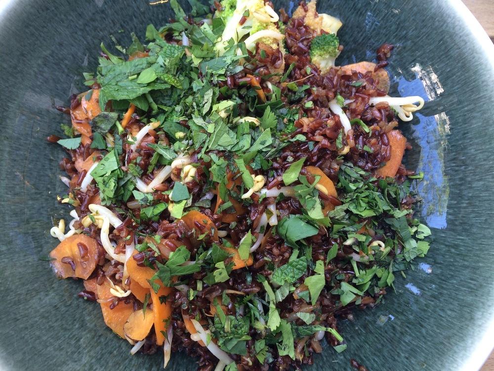 Não esqueço o sabor desta salada Thai <3