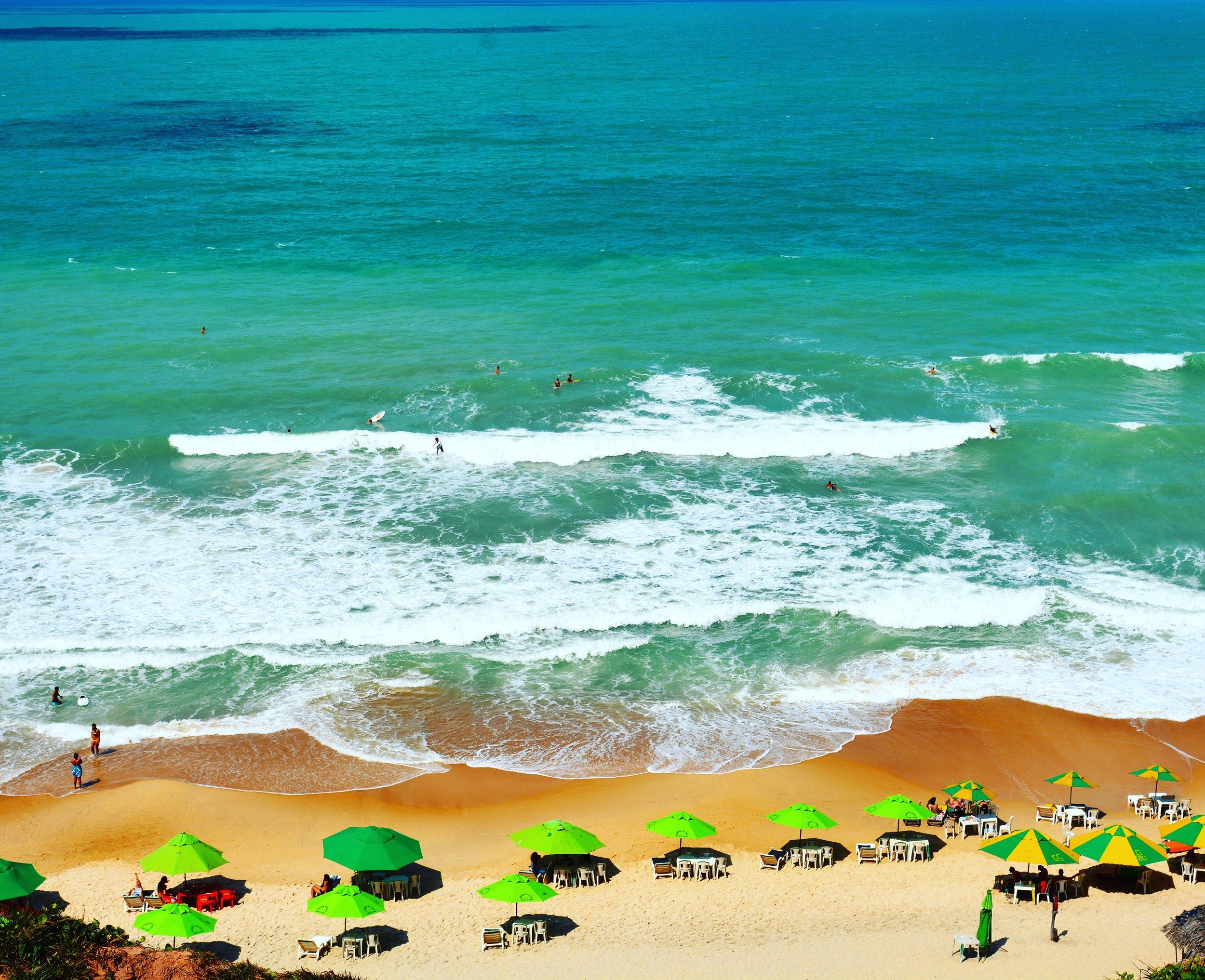 Praia do Amor (ou dos Afogados) vista de cima