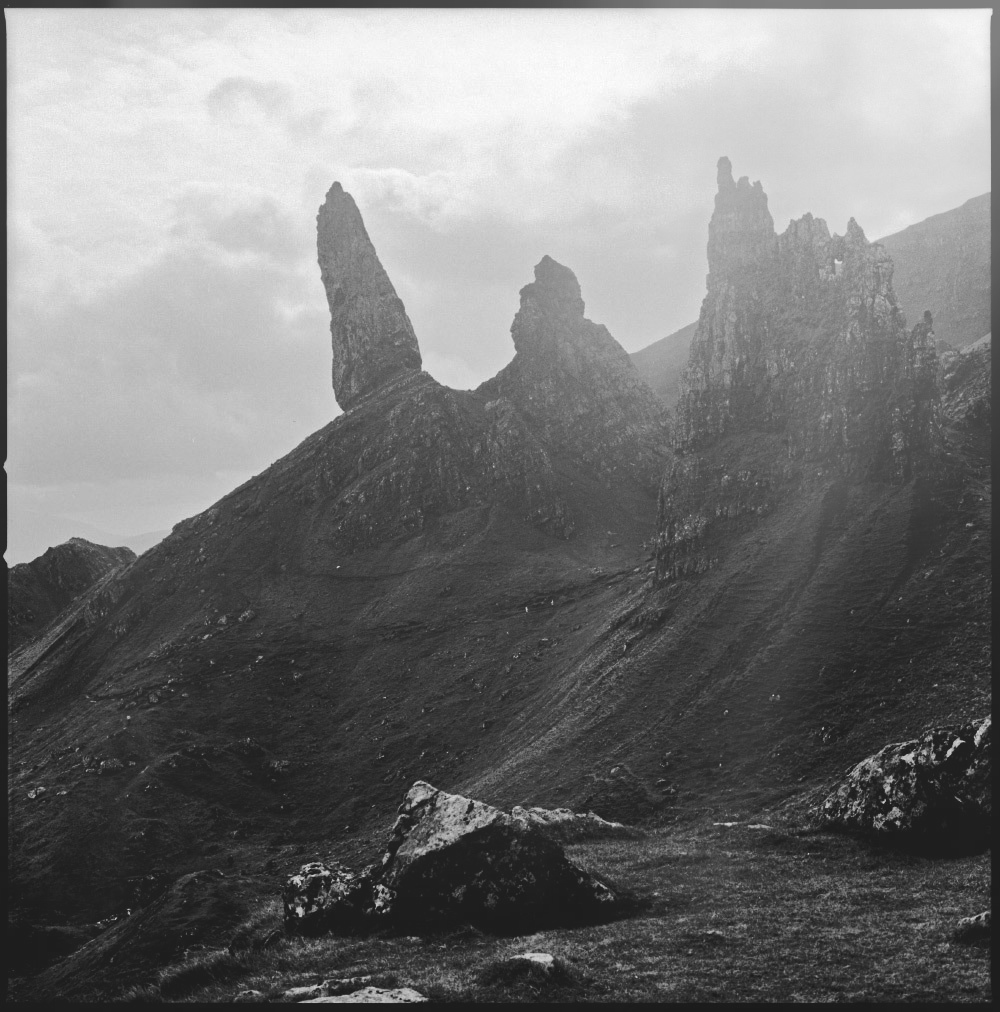 Where the old gods meet the earth - Old Man Stoor, Isle Of Skye.