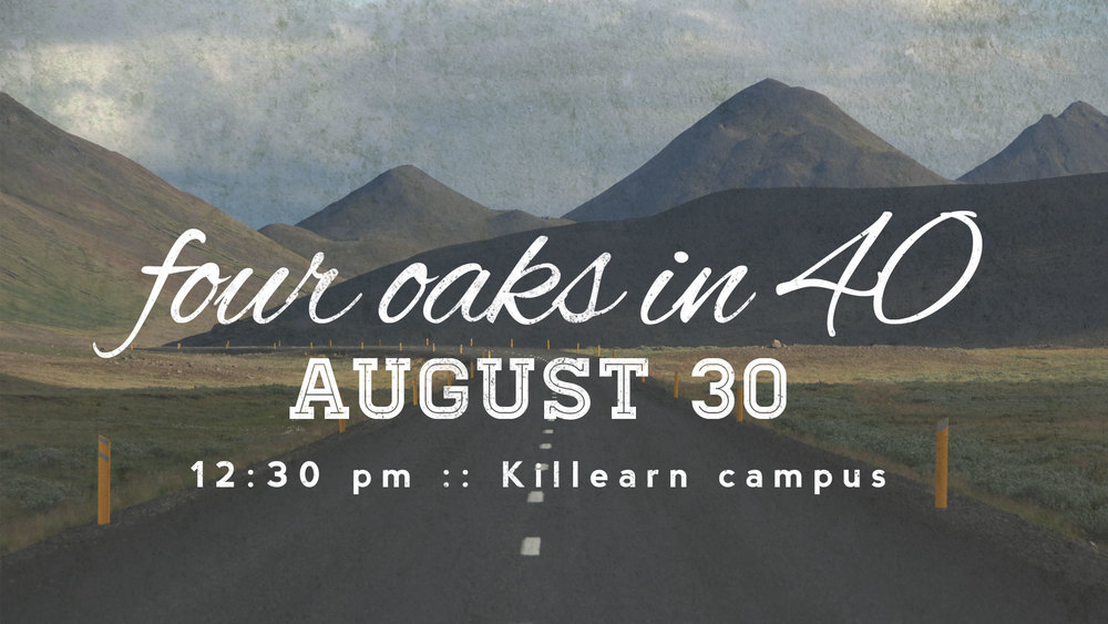 Join us for lunch and a 40 minute presentation about Four Oaks. Click here to register.