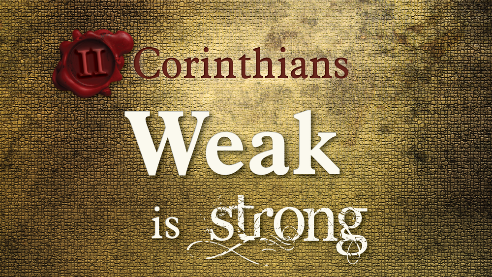 Listen as our pastors preach through II Corinthians.