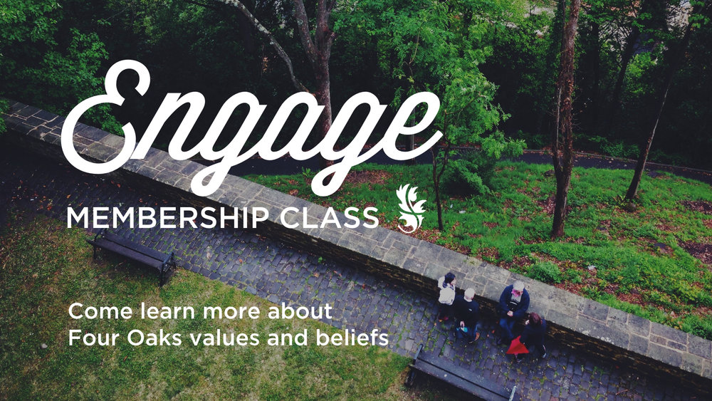 ENGAGE at Midtown is a class that takes place on two consecutive Sundays from 4-6:30pm. Snacks and childcare are provided. For information on the next ENGAGE class, contact   Susan Colligan  .