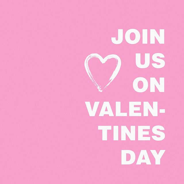 Special V-Day night tomorrow! Join us!