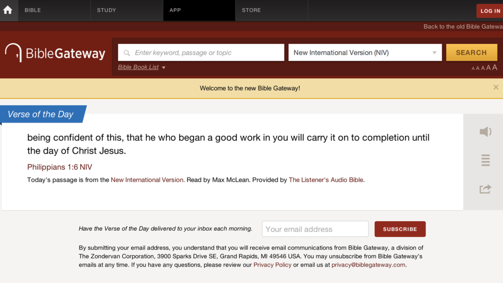 One of the most useful websites to access Scripture in different versions