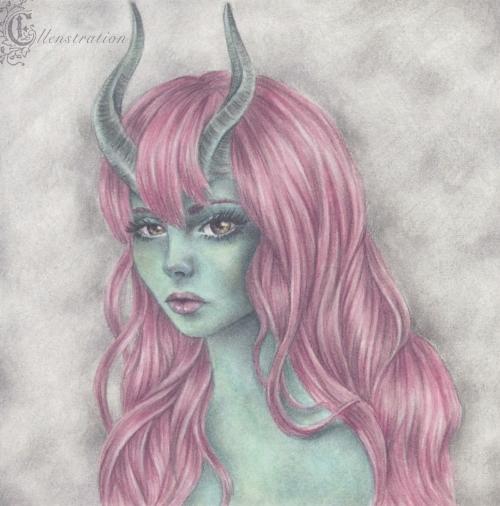 Horned Girl #1