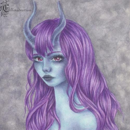 Horned Girl #2