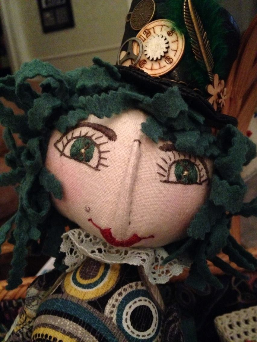 Steampunk Doll by Margaret Fessenden