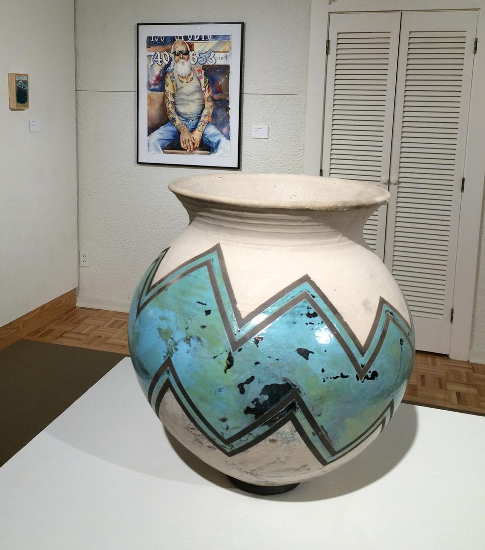 Zig Zag Vase by Josh McCurdy