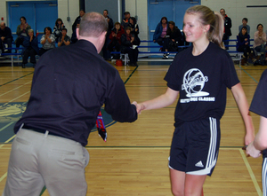13-14: Brooke Cornel receives her Top 5 Award