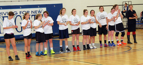 13-14: Coach Lisney and her All-Stars