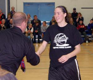 13-14: Maddy Morris of Rideau (Sr MVP)