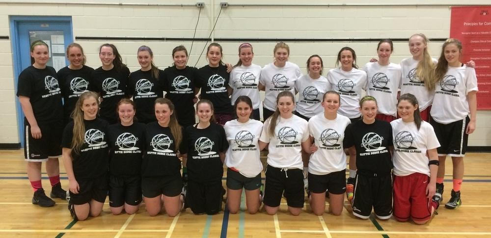 14-15: Sr Girls Basketball All-Stars