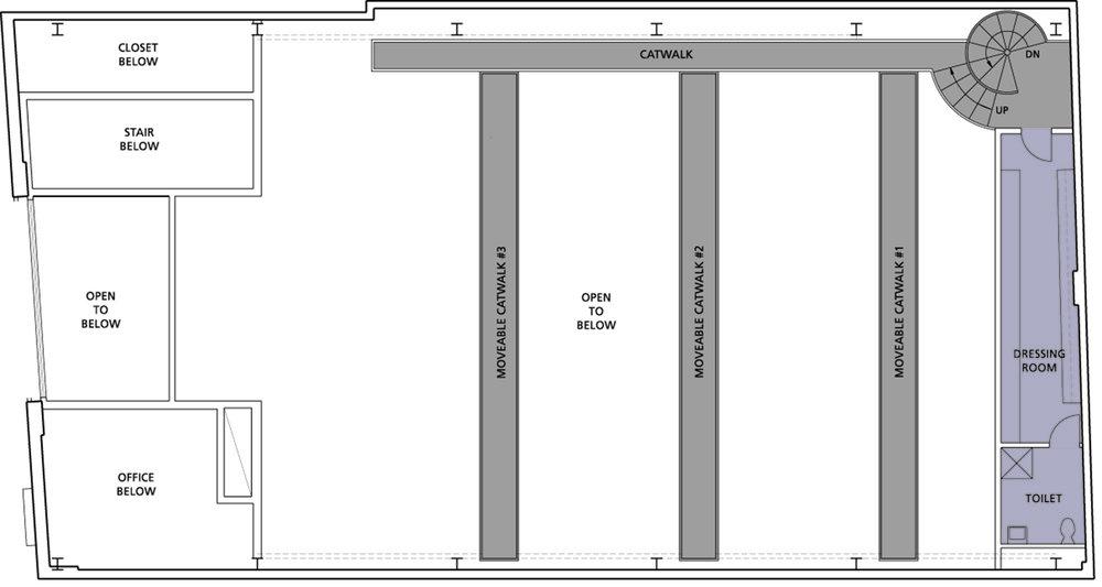 2nd mezzanine plan