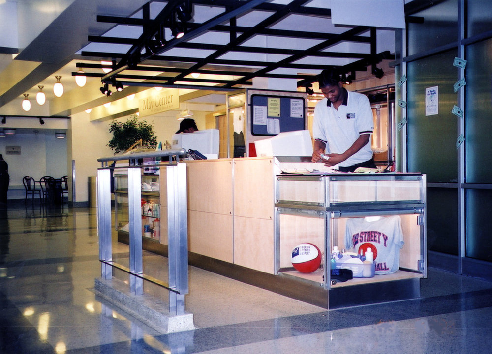 View of lobby desk