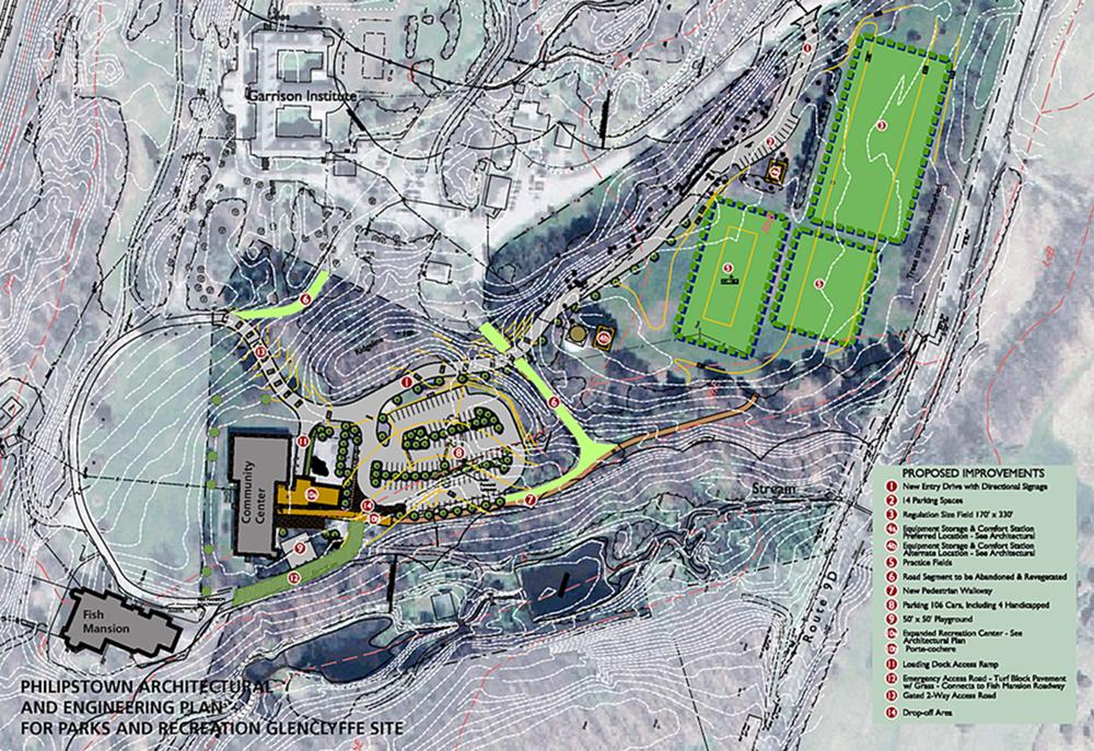 Glenclyffe site plan