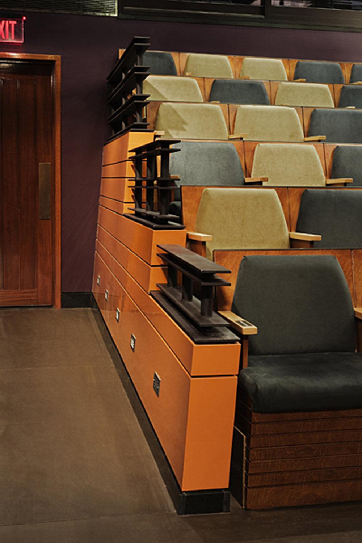 Seat bank detail