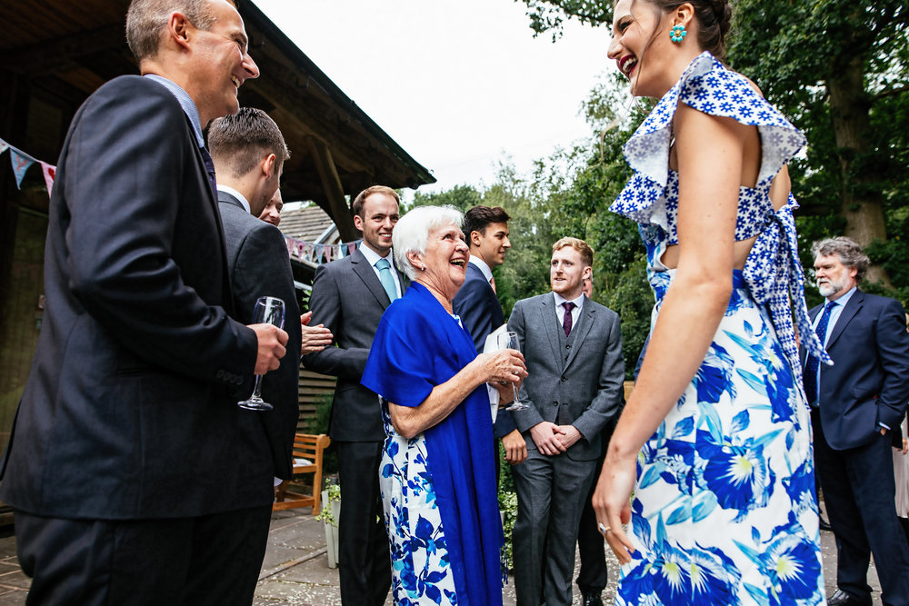 The Oak Tree Of Peover Wedding Photographer