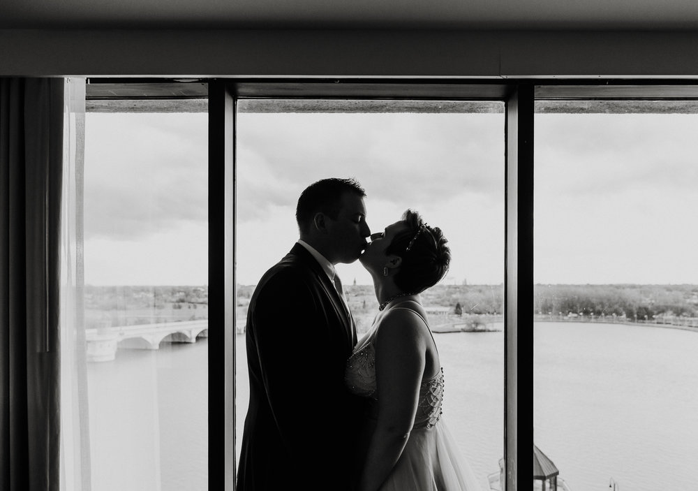 Downtown Toledo Wedding Lauren Alexandra Photography
