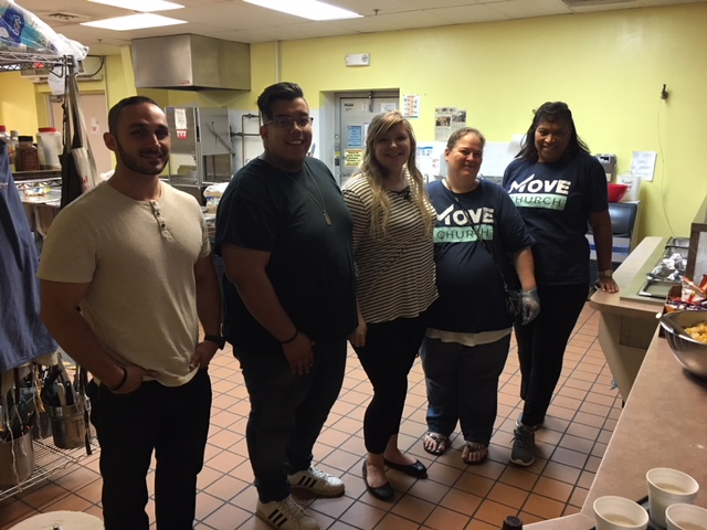 Move Church form Stafford made a delicious lunch for the residents on Saturday. This was their first time participating in our Meal Program and we are so happy they chose to help the Brisben Center. Led by Kassidy and supported by Pastor Scott, thank you Move Church!!