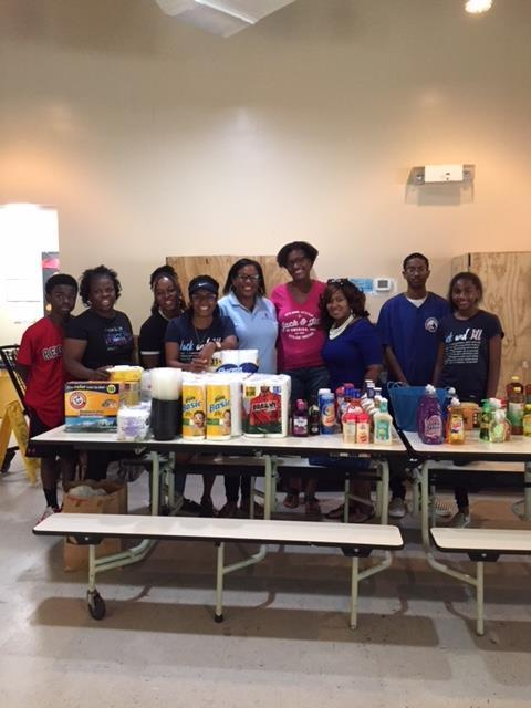 Jack and Jill of America conducted a wonderful donation drive for the Brisben Center recently. Thank you so much everyone! They will be back to help our residents celebrate Martin Luther King Day in January. We can't wait!