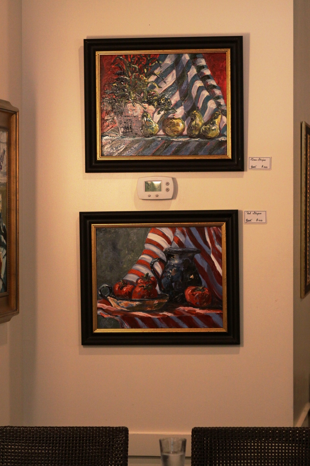 Connie Logan's work can be found throughout the current gallery.