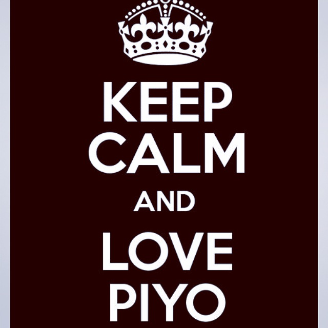 Love PIYO - and love getting your core strong.