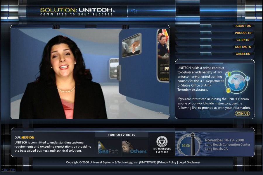 Unitech Website