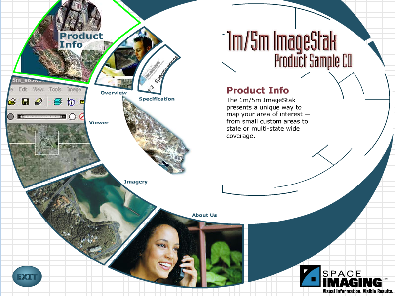 "Space Imaging ""ImageStak"" CD"
