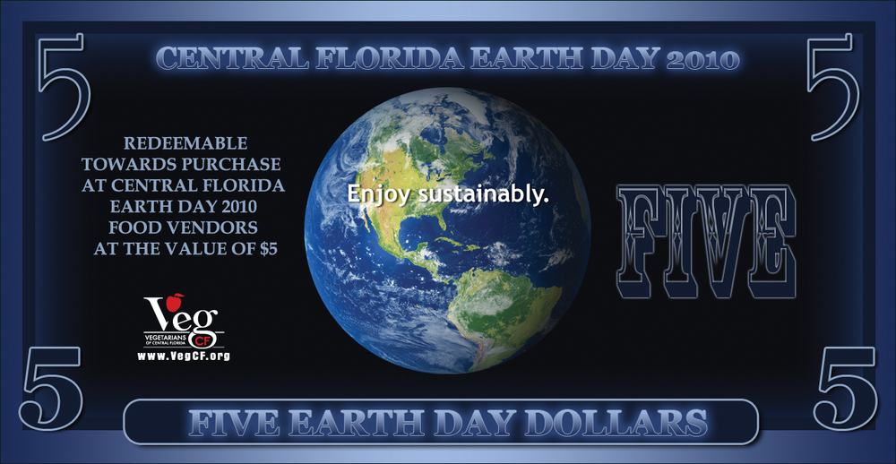 Earth Day Dollars Voucher