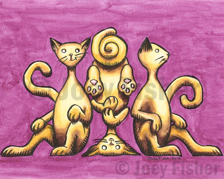 Cats Chillin'