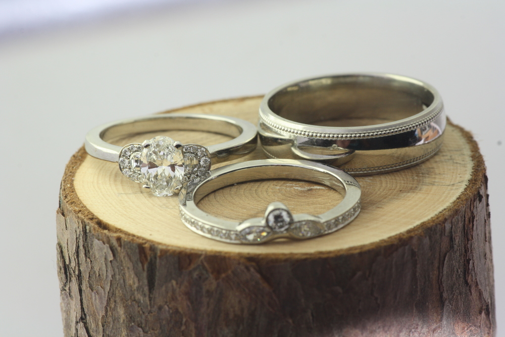 Anna and Dillwyn Wedding Bands