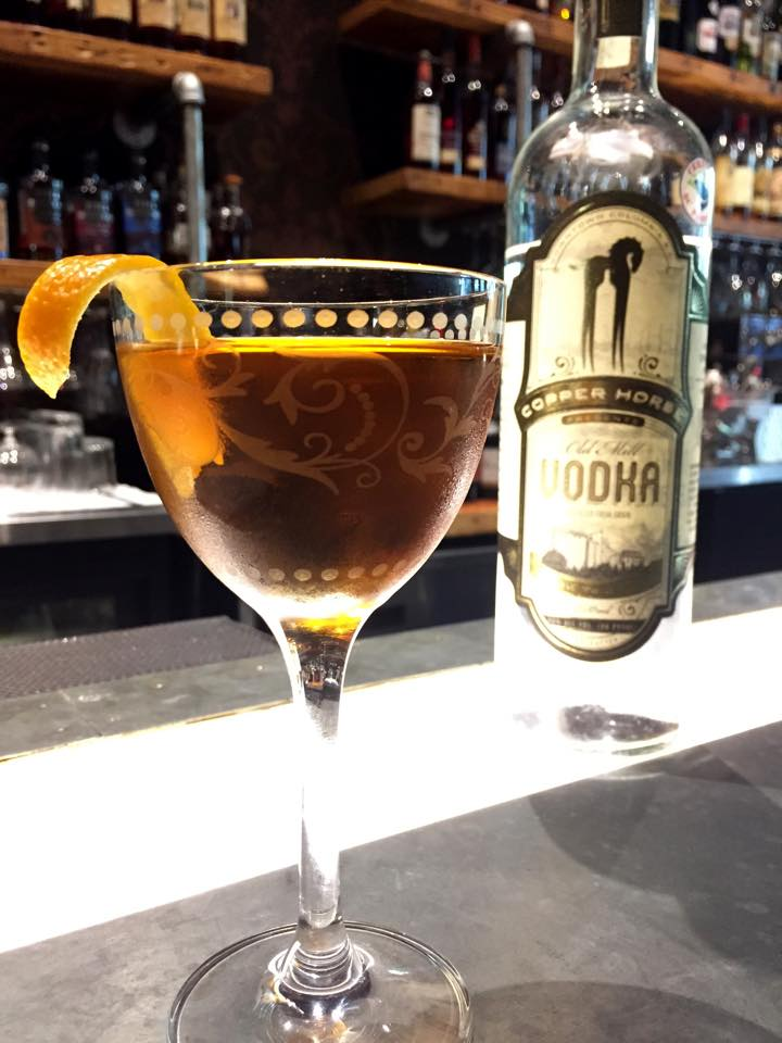Bourbon Columbia's Copper Wizard