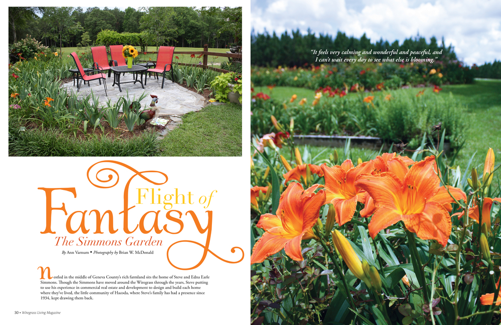 Current issue's garden feature  preview