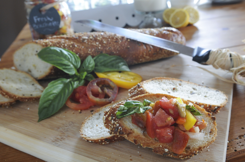 Heirloom Bruschetta