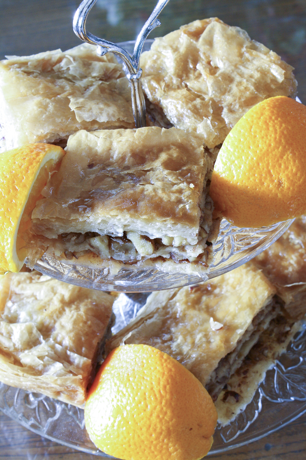 Orange Blossom Baklava