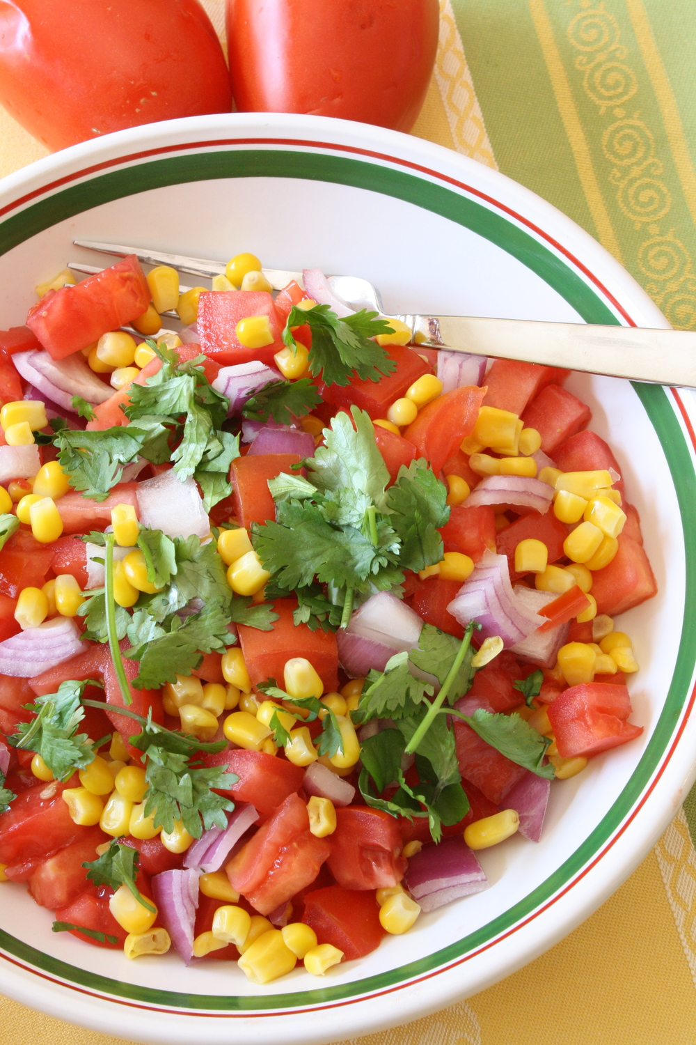 Sweet Corn and Tomato Salad