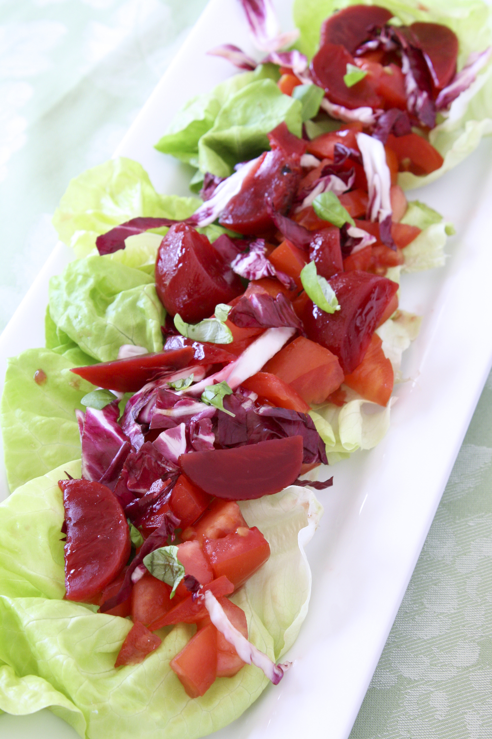 Ruby Red Chopped Salad
