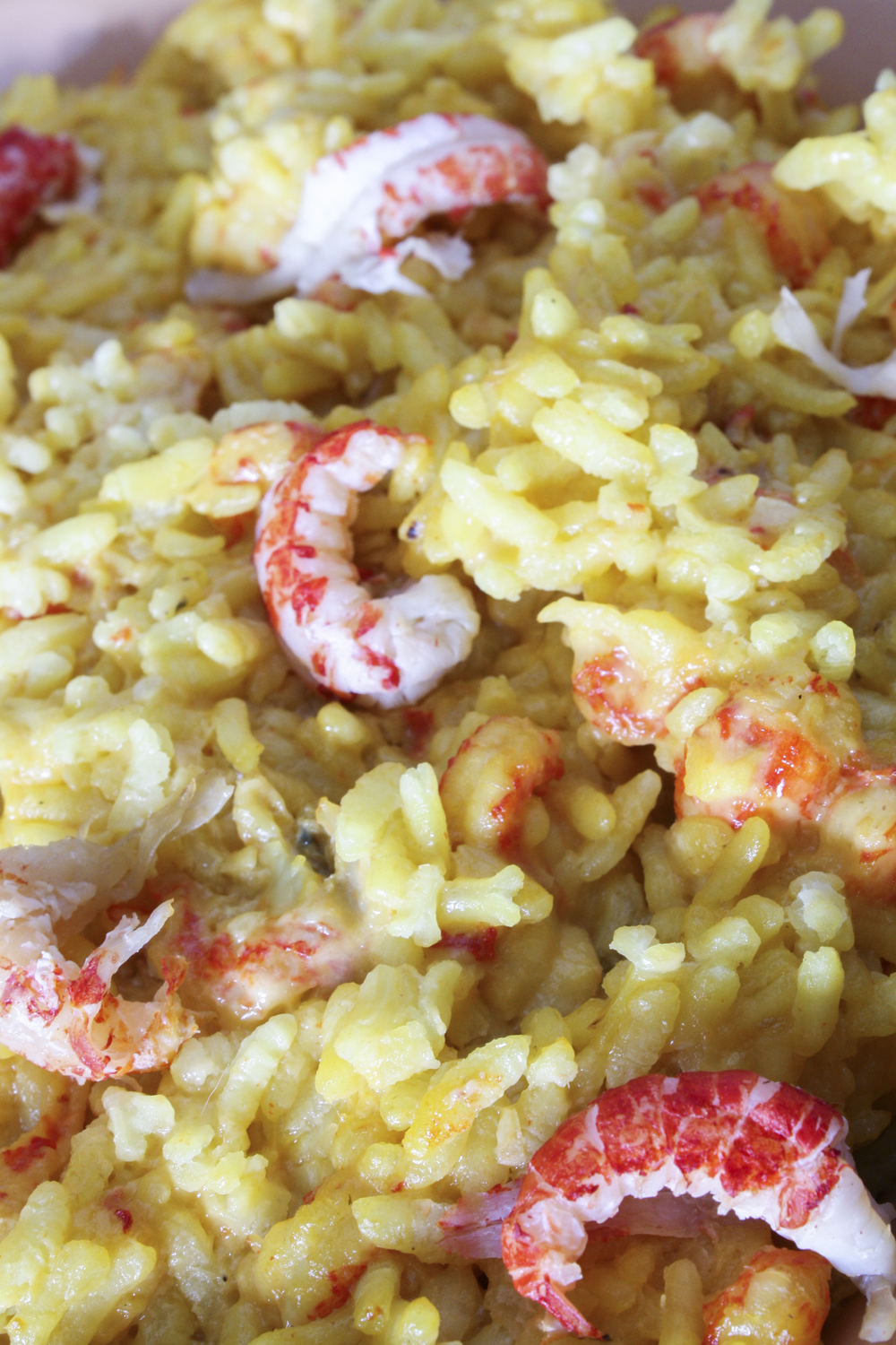 Saffron Crawfish Risotto