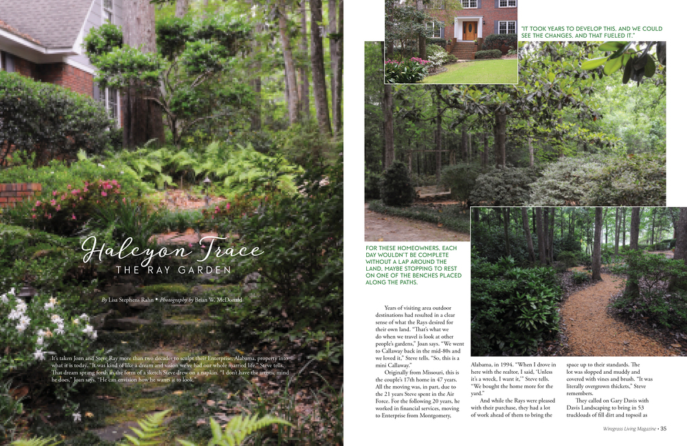 The Ray Garden, Wiregrass Living Magazine, MayJune2016